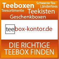Teeboxen Leere und gefüllte Teebox finden und kaufen - Teesortimente