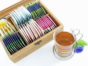 Schöne Teeboxen aus Holz