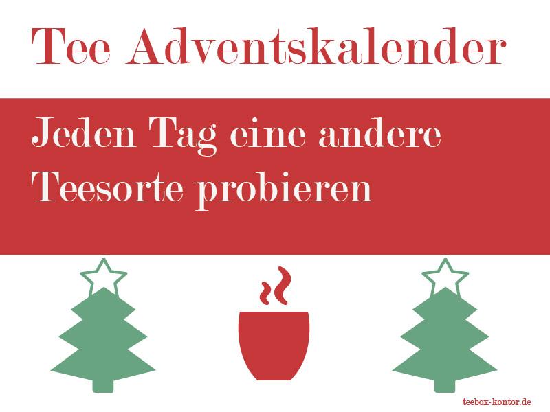 Tee-Adventskalende zum kaufen