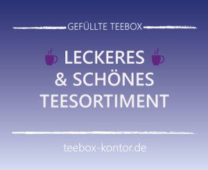 Leckeres Teesortiment von English-Tea-Shop auf teebox-kontor.de