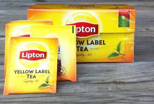 Lipton Teebeutel kaufen - Yellow Label im Test
