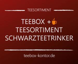 Edle Teebox und zusammengestelltes Twinings Teesortiment für Schwarzteetrinker auf teebox-kontor.de