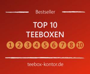 Top 10 Teeboxen aus Holz - Die Bestenliste auf teebox-kontor.de