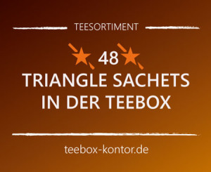 Trangle Sachets - Teebeutelsortiment in der box auf teebox-kontor.de
