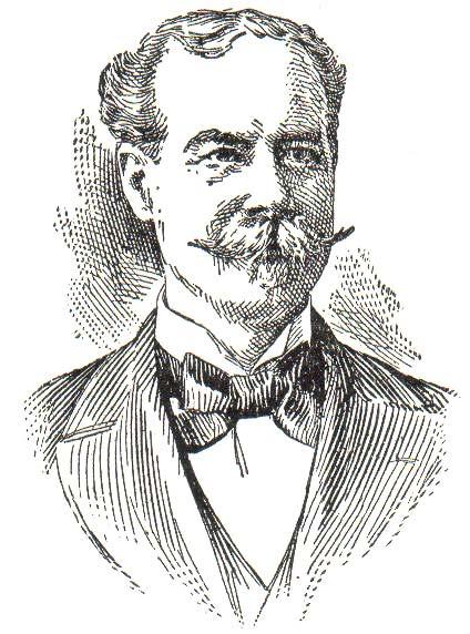 Sir Thomas Lipton Teeimporteur-Portrait