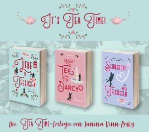 Romane über Tee und einen Teesalon