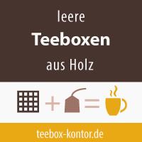 Teeboxen aus Holz